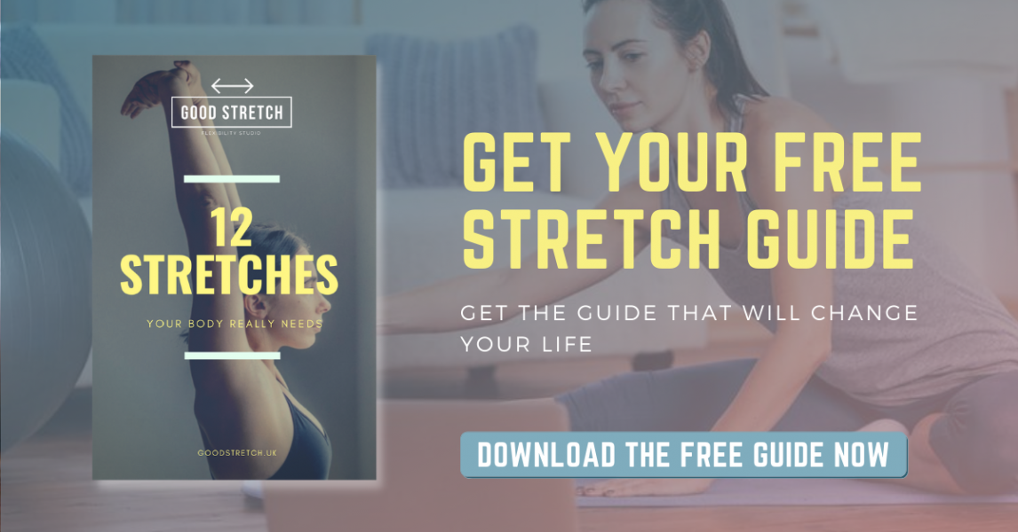 GET YOUR FREE STRETCH GUIDE